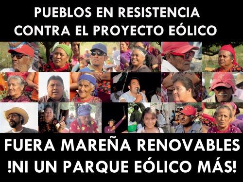 Pueblos en resistencia contra el proyecto eólico