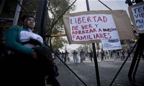 Concluye en Chiapas marcha a favor de migrantes