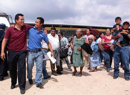 Desplazados La Independencia Chiapas.