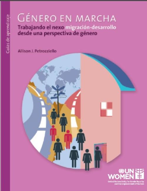 UN Women Migration Report Spanish cover page jpg
