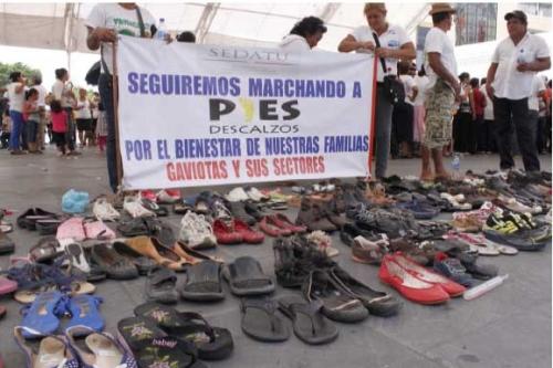 Amenazan con quemas y bloqueos en visita de Peña