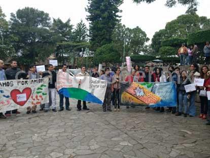 marcha Mesa Tranfronteriza de Migra y Gén