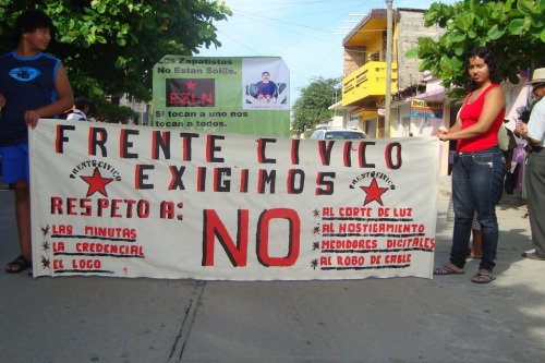 HostigamientoCFEaResistenciaCivil