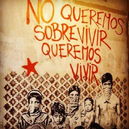 queremos vivir-EZLN